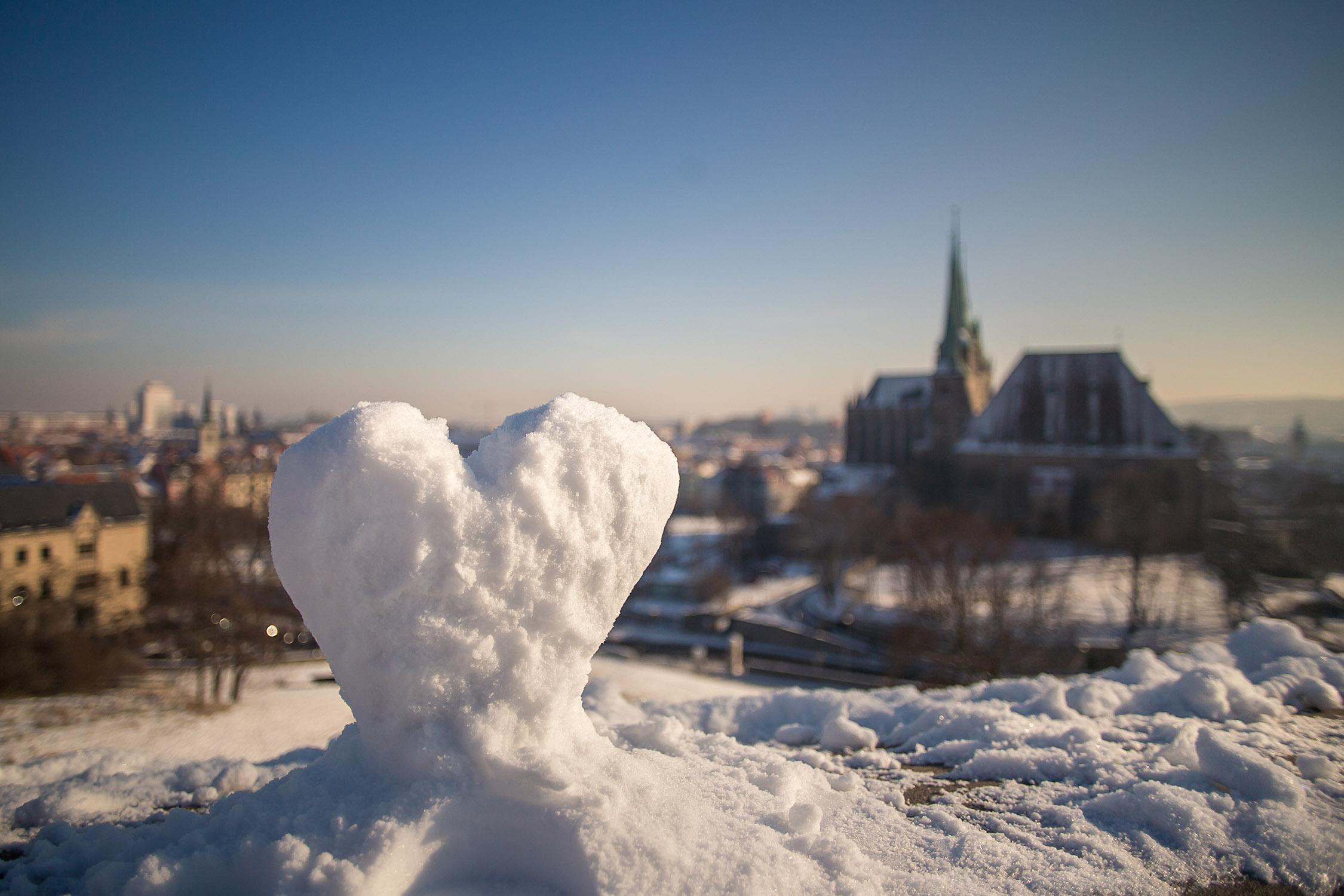 Valentinstag in Erfurt, einen romantischen Tag in der Glashütte