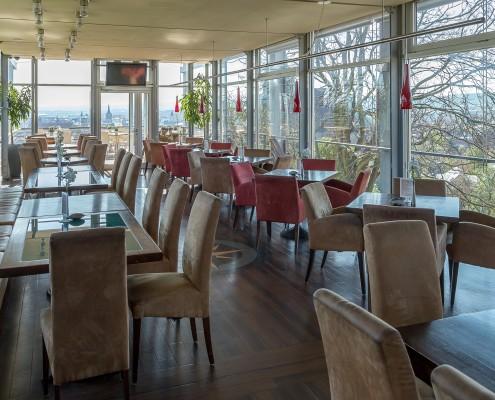 Innenansicht Restaurant Glashütte Erfurt